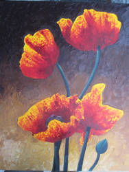 Poppies Large by IHeartVimes