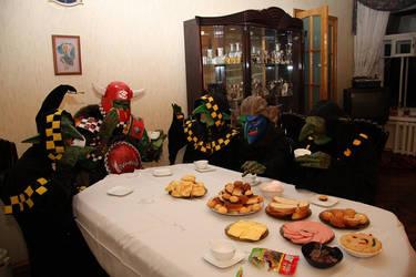 warhammer greenskins tea party by BIGBUBBASSTUFF
