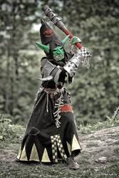 Warhammer night goblin warboss by BIGBUBBASSTUFF