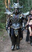 warhammer FANTASY Dark Elf dreadlord by BIGBUBBASSTUFF