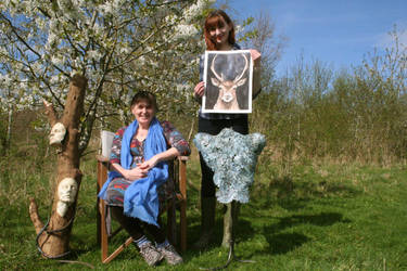 'A Celebration of Nature' - My daughter Kate and I by Lit-Smith