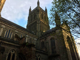 Worcester Cathedral by Lit-Smith