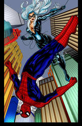 Spidey Blackcat by Justice41 by Otyugh