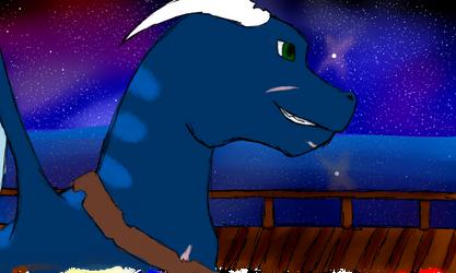 Roku the dragon by DSthewolf