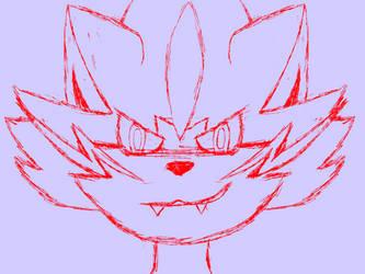 Zeraora sketch by DSthewolf