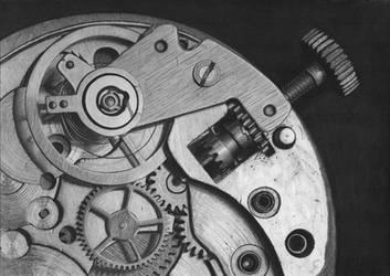 Uhrwerk (clockwork mechanism) by Ziemann65