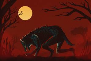 halloween werewolf snak by cydova