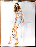 Fashion Illustration No3 by soojin926
