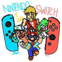 Nintendo Switch One Year Anniversary! by Metagaim