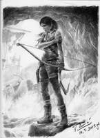 Lara Croft - Completed drawing by Raimondsy