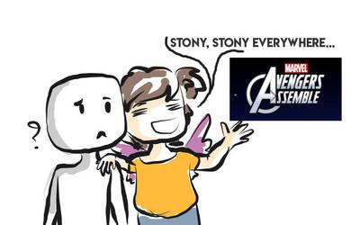 Stony, stony everywhere by KoalaVolant
