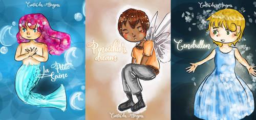 Fairytales Covers by KoalaVolant