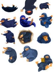 Niffler Illustration by KoalaVolant