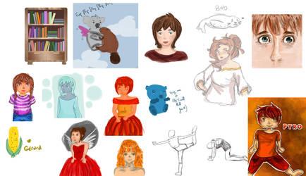 Sketch, sketch, sketch dump by KoalaVolant