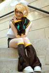 Kagamine Rin: Hello by AnyaPanda