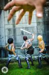 Shingeki no Kyojin: Not the Weapon Nor the Skill by AnyaPanda