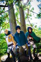 Shingeki no Kyojin: Power of Three by AnyaPanda