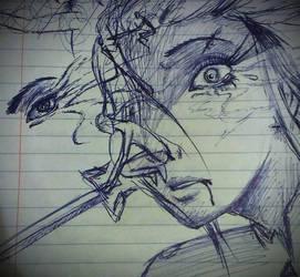 How I sketch by Alvardy