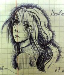 How I sketch 2 by Alvardy