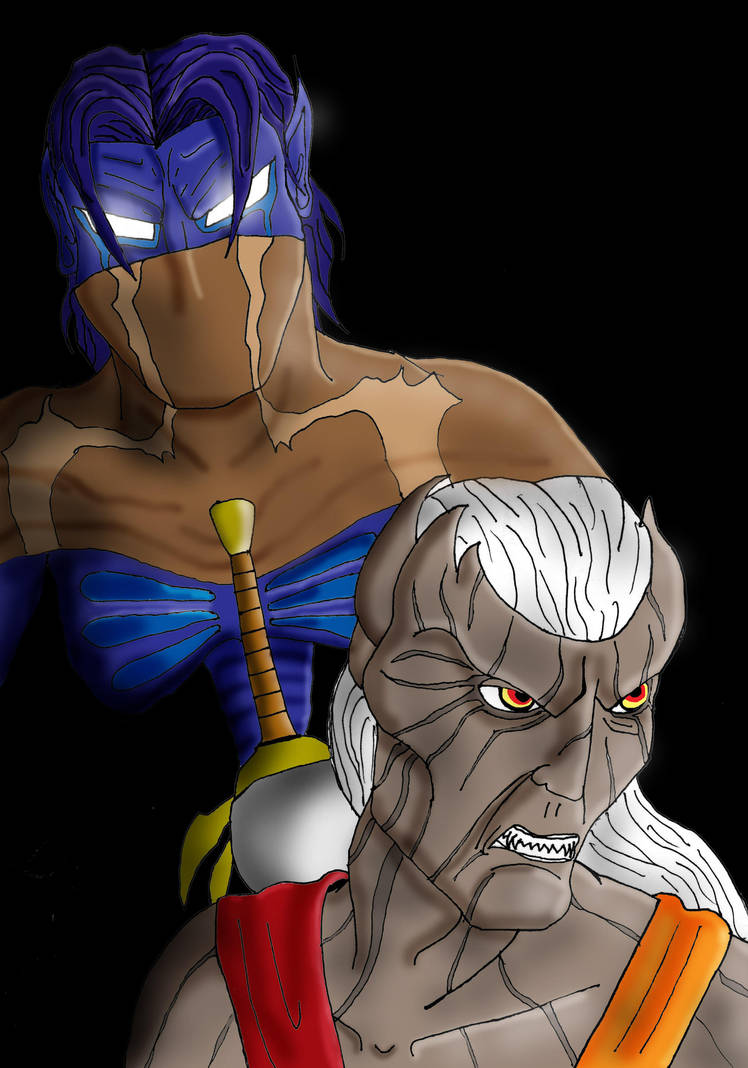 Raziel and Kain by Agent-G