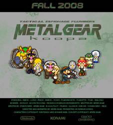 Metal Gear Koopa - Poster by SecksShae