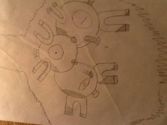 Marriland's Magneton, Taquito by Typhl0si0n-F6n