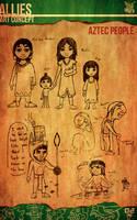 Aztec Xilo_Art Concept - Aztec People by Team4Taken