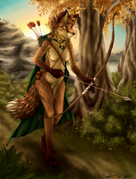 Huntress by Tanukiri