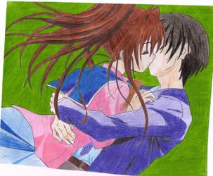 Anime couple by AnimeFreak84