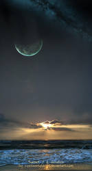 sunset by continentaldrift