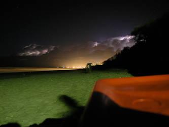 thunderstorm approaching II by continentaldrift