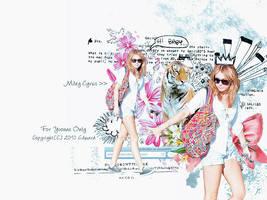 20100626 Miley Cyrus 2 by EdwardHuaBin
