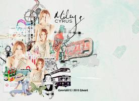 20101121 Miley Cyrus by EdwardHuaBin