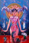 Not a stupid geisha by Italia-Ruotolo-Art