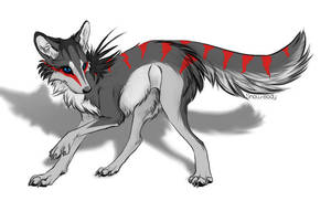 Wolf adopt by BlackAdopts93