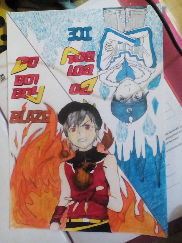 Bbb Blaze And Ice By Mizwan44 On Deviantart