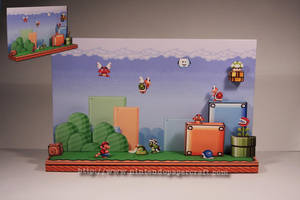 Super Mario Bros. 3 Diorama by Drummyralf