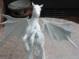 Dragon Horse, Work in Progress by GoldenGryffen