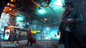 WATCH DOGS Re-Edit Wallpaper by RazoTRON