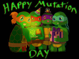Happy Mutation Day by AnimeWaterFall