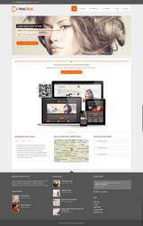 Practical WP - Responsive 1440px Theme by m-themes