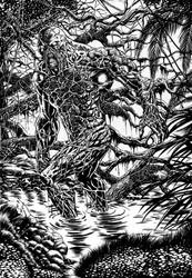 Swamp Thing by ANDREWCOTINGUIBA