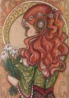ACEO: Autumn Bouquet by DanielleMWilliams