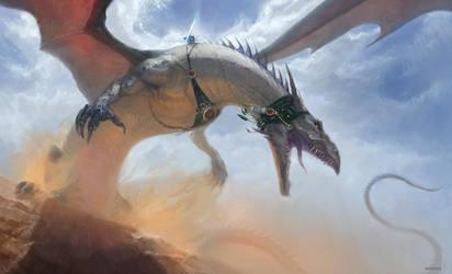 Desert Rider by ArtVorteX