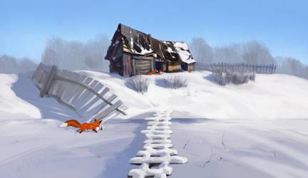 Fox house by ArtVorteX