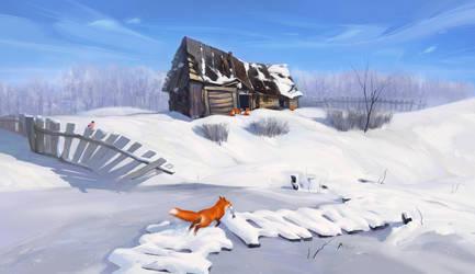 Fox house 2 by ArtVorteX