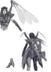 Rose lod2 armor concept by Solusemsu