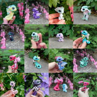 Cherry Blossom Dragons by BittyBiteyOnes