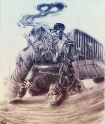 Mad Max - Furiosa (fan art) by RinKaDrawings