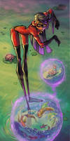 Violet - The Incredibles by RinKaDrawings